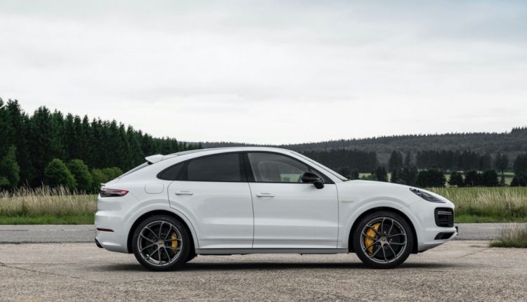 The Cayenne Turbo S E Hybrid Coupe