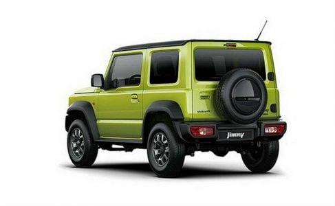 Suzuki-Jimny-Sierra-Rear