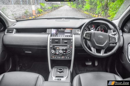 2018-Land-Rover-Discovery-Sport-India-Review- Interior