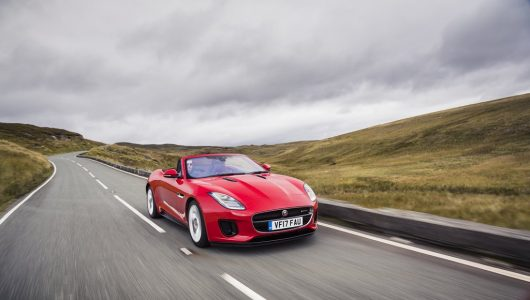 Jaguar F-TYPE 2.0 l Convertible India launch (1)