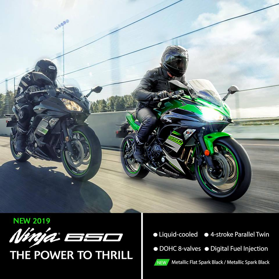 2019 Ninja 650 Introduced By Kawasaki In India Know Details