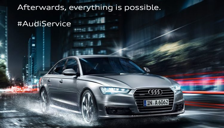 Audi launches the Monsoon Campaign – 'Bring on the rain'