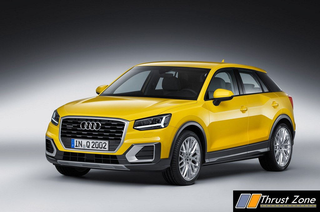 Audi Q2 India >> Audi Q2 India Launch Set Between Late 2019 And Early 2020