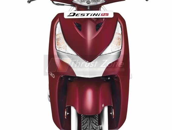 Destini 125 i3s Noble Red5