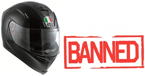 Absolute NonSense - European Helmets Banned in India