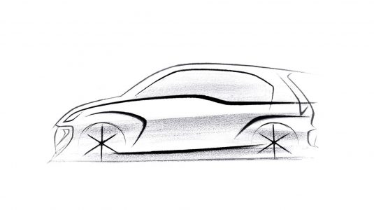 Next Generation Santro Sketch
