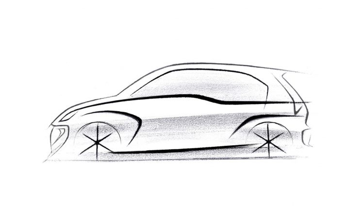 Next Generation Santro Sketch (2)