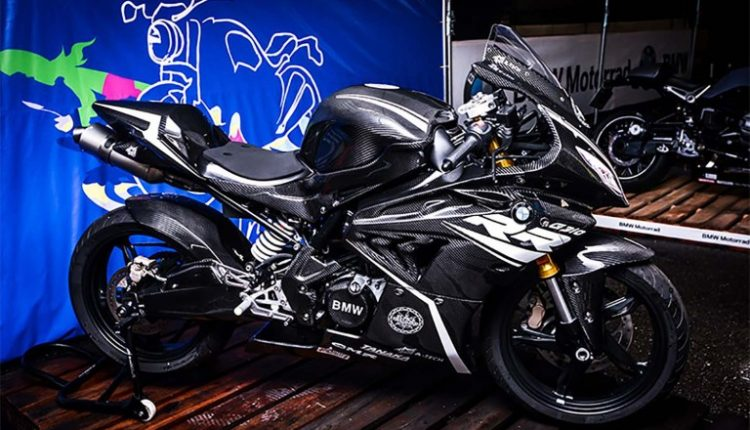 BMW G310RR-Supersport-india-carbon-fibre (2)
