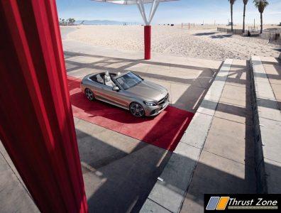 2019 Mercedes C-Class Cabriolet India (1)