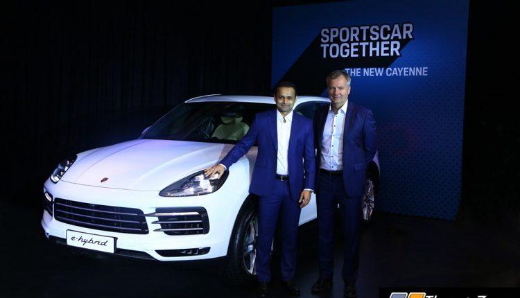 2019 Porsche Cayenne India (1)