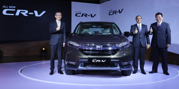 All New Honda CRV Diesel and Petrol Launched