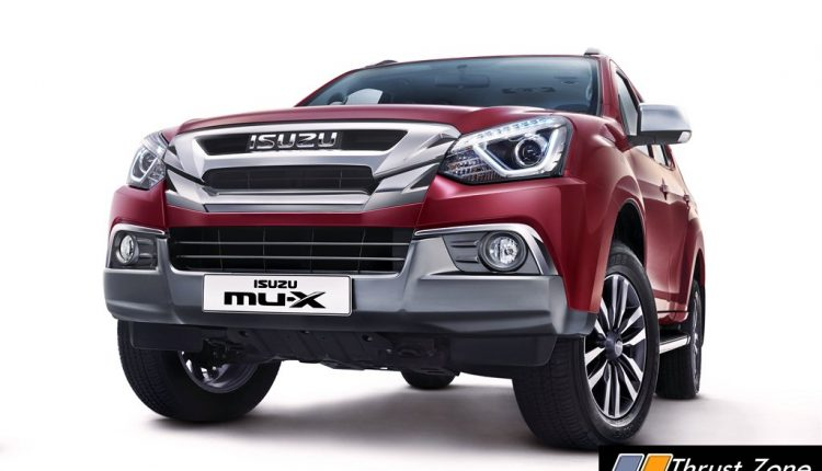ISUZU mu-x-india-2019-launch (1)
