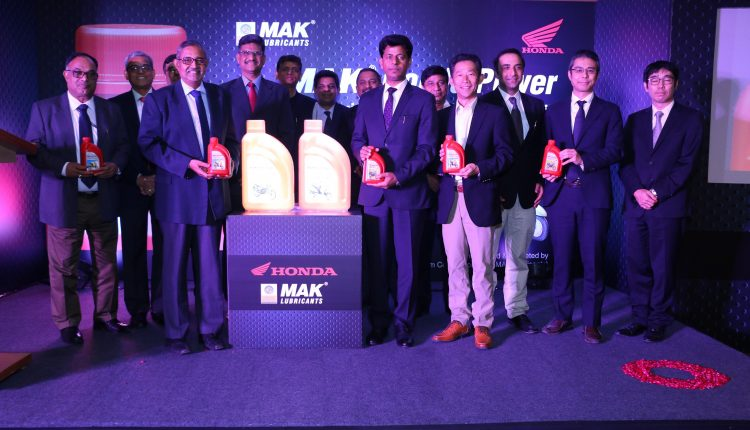 'MAK Honda Power' launched by Honda 2Wheelers and MAK Lubricants, BPCL