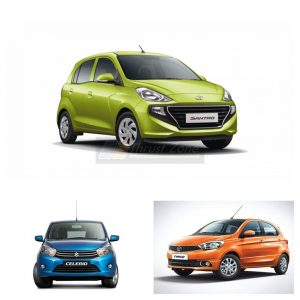 New 2019 Santro Vs Maruti Celerio Vs Tata Tiago (1)