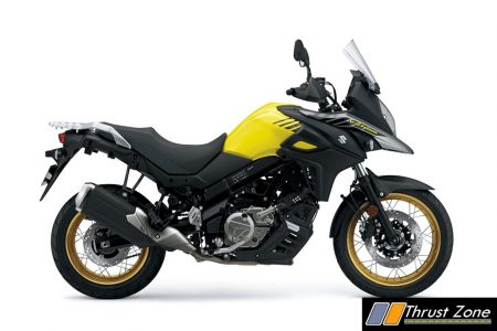 Suzuki V-Strom 650XT ABS_Champion Yellow Color No. 2