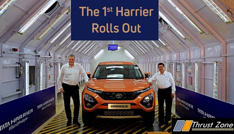 Tata Harrier Is Now Ready For Launch (1)