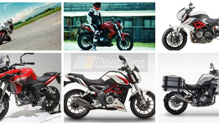 2019 Benelli Bikes Relaunched TNT 300, 302R and TNT 600i