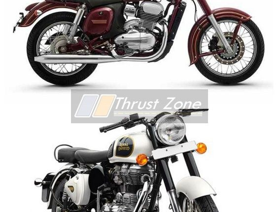 2019 Jawa 300 V RE Classic 350 Specification Comparison (2)
