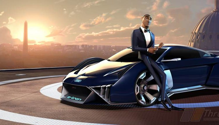Audi Designs Concept Car For Animated Film, Spies In Disguise (2)