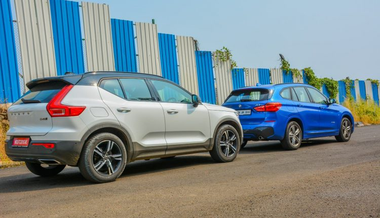 BMW X1 vs Volvo XC40 Diesel Comparison Review Shootout-10