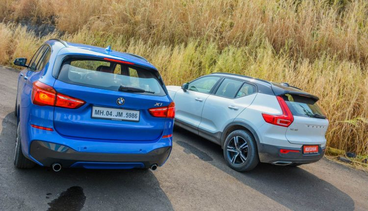 BMW X1 vs Volvo XC40 Diesel Comparison Review Shootout-12
