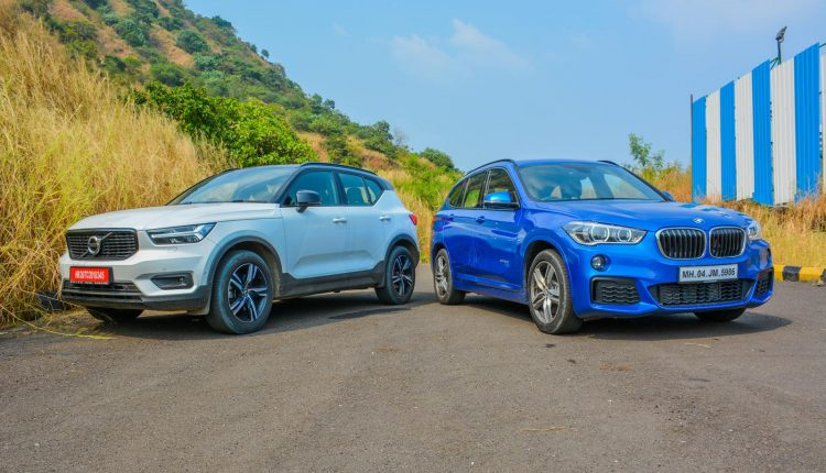 BMW X1 vs Volvo XC40 Diesel Comparison Review Shootout-13