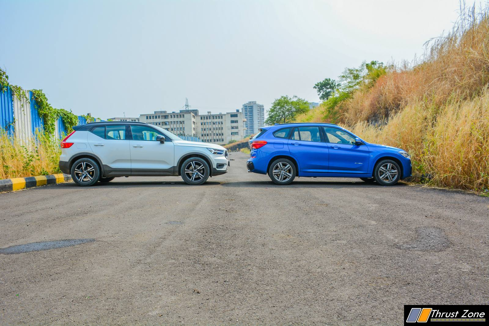 BMW X1 vs Volvo XC40 Diesel Comparison Review Shootout-15