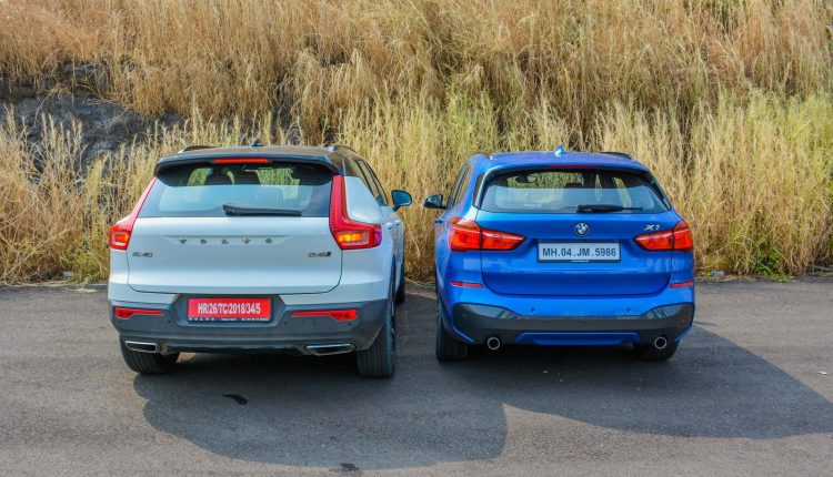 BMW X1 vs Volvo XC40 Diesel Comparison Review Shootout-17