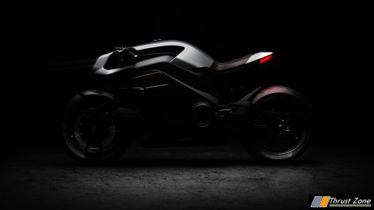 Jaguar Funded ARC Vector Electric Motorcycle