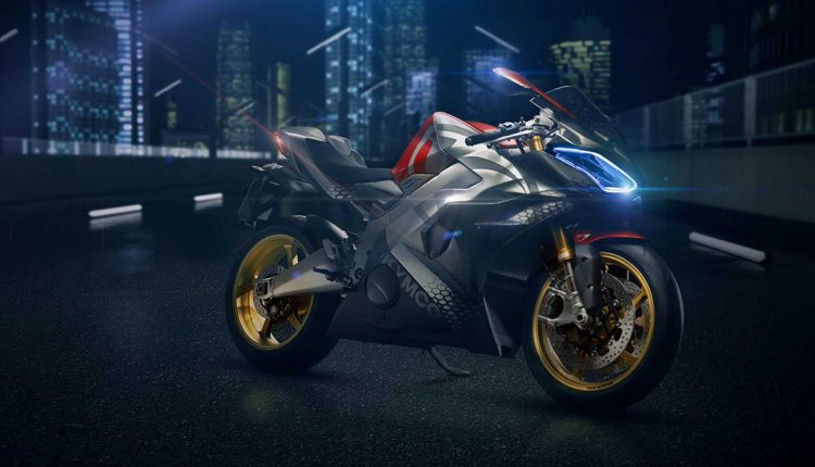 KYMCO SuperNEX Electric Superbike (1)