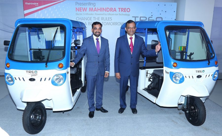 Mahindra Electric Powertrain Hub Begins In Karnataka, Treo Electric E-Rickshaw Launched