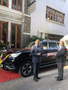 Anand Mahindra Buys Alturas G4, Names It Baaz