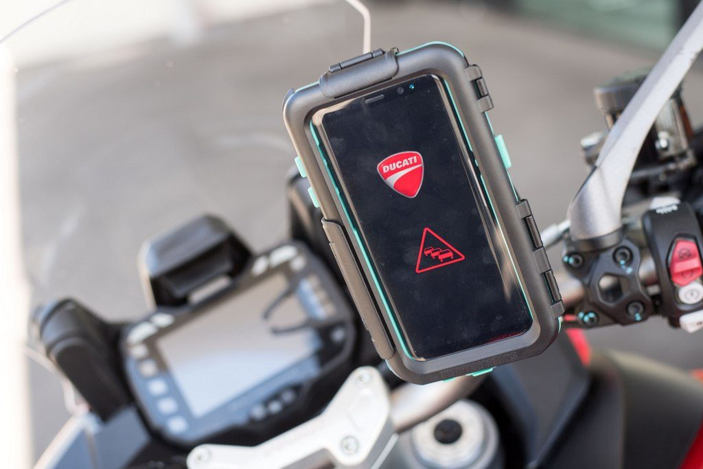 Ducati-Audi-And-Ford-Develop-Car-To-Bike-Communication-Technology