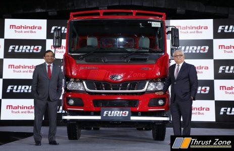 Mahindra Furio Launch