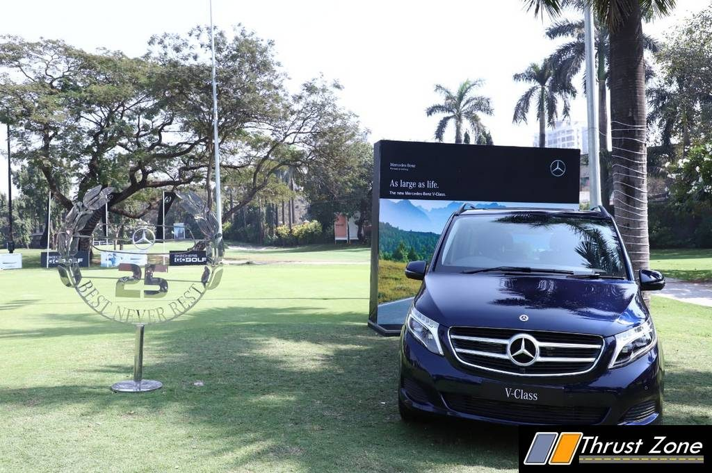 Mercedes Conducts Golf Trophy 2019