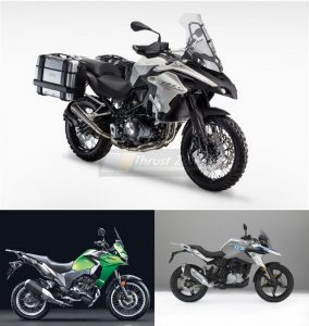 Benelli TRK 502 Vs BMW 310 GS Vs Kawasaki Versys-X 300 - Specification Comparison (2)