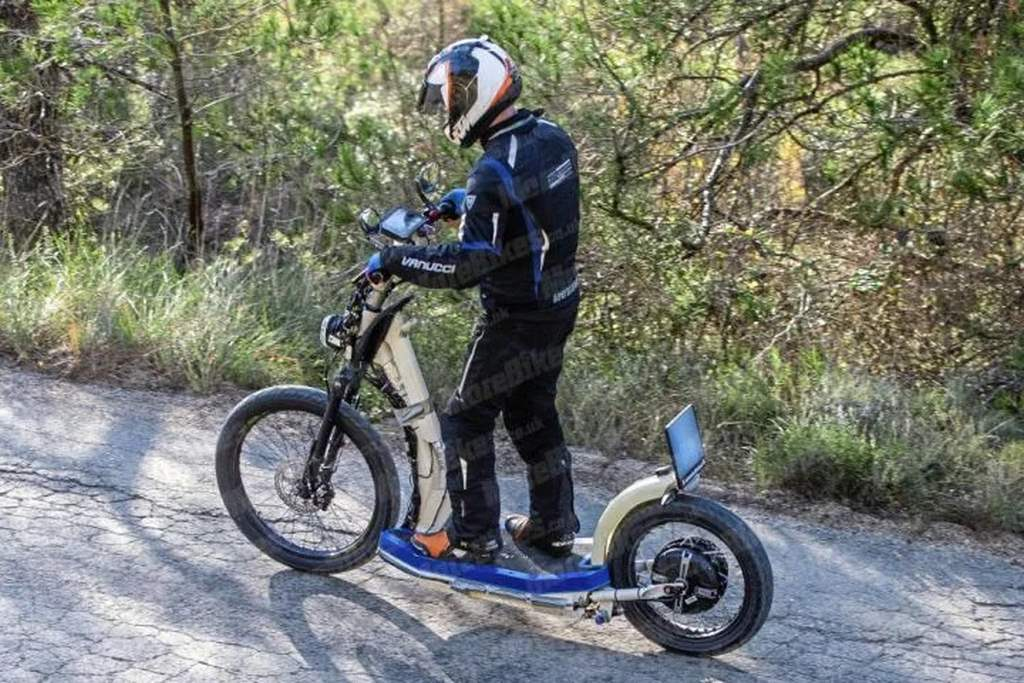 KTM Electric Kick Scooter Spied Testing - Ready To Charge, Ahead?