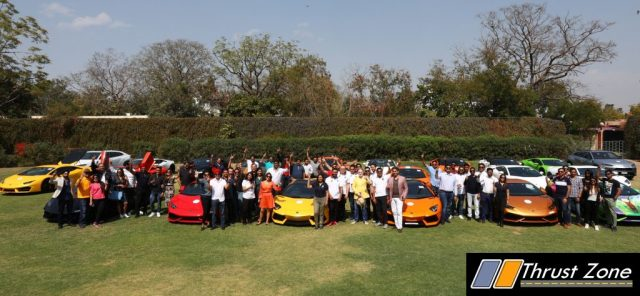 Lamborghini Completes 10 Year India (2)