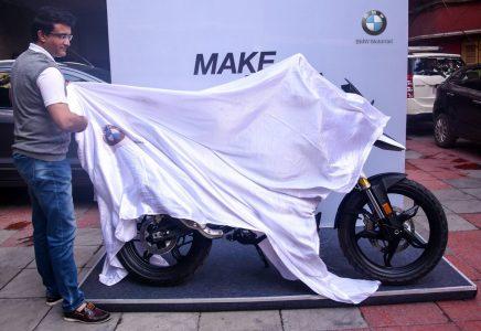 Sourav Ganguly Buys A BMW G310GS (3)