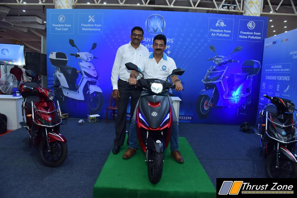 Avan Motors Trend E Electric Scooter Launched (3)