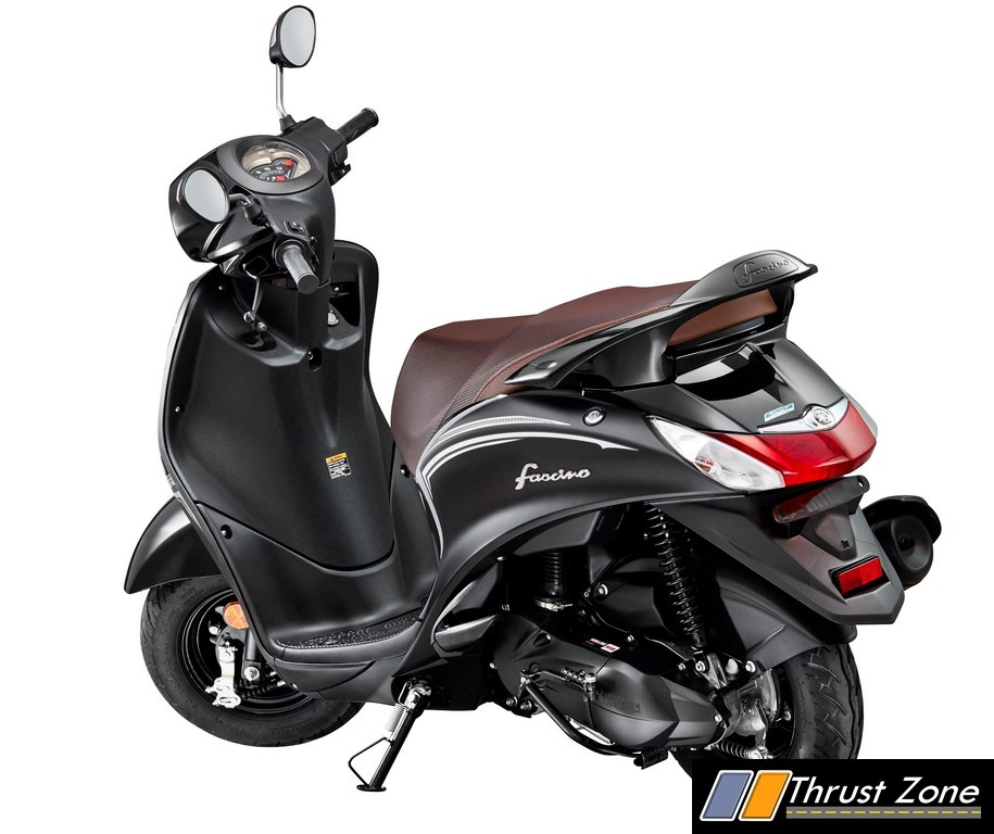 Yamaha Fascino Darknight