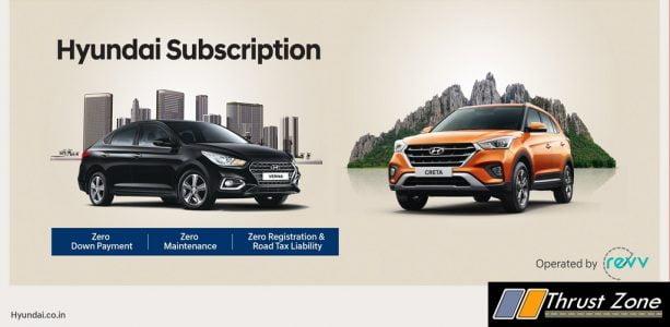 Hyundai Motor India and Revv launches 'Hyundai Subscription'