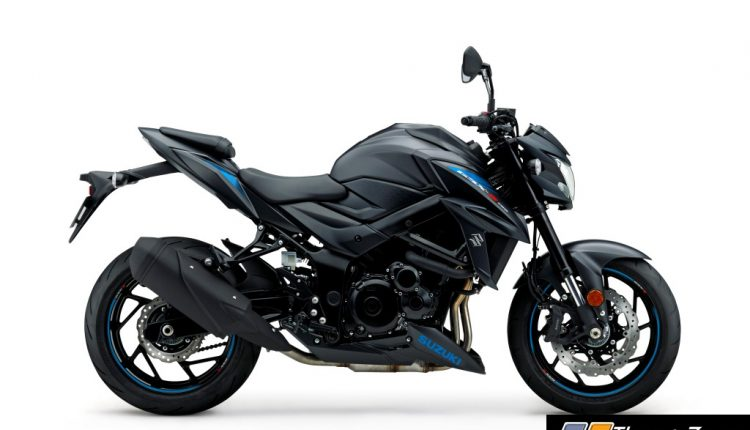 2019 Suzuki GSX-S750 edition in Metallic Mat Black colour_2