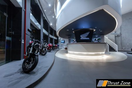 Honda BigWing Showroom- Information Desk