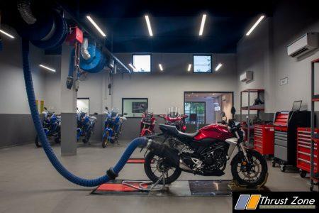 Honda BigWing Workshop- Service Area