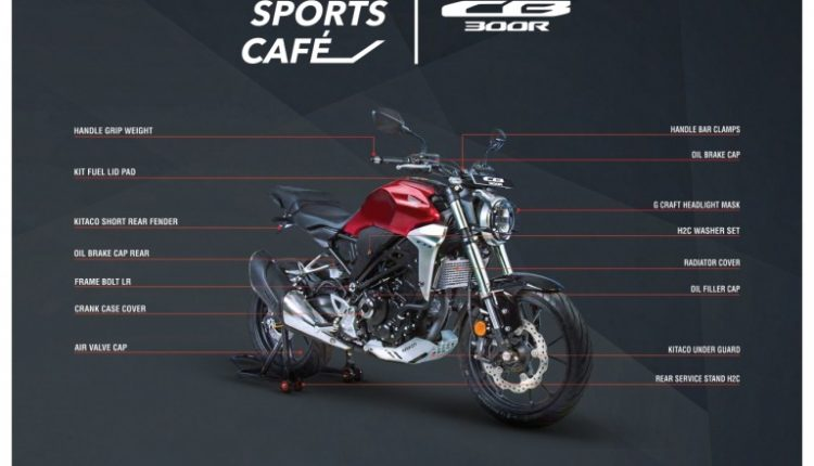 Honda CB300R accessories details (2)