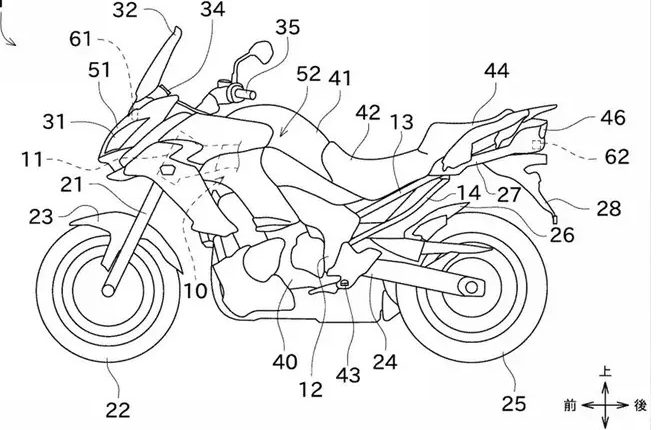 Kawasaki Radar System To Be Applied To Motorcycle (4)