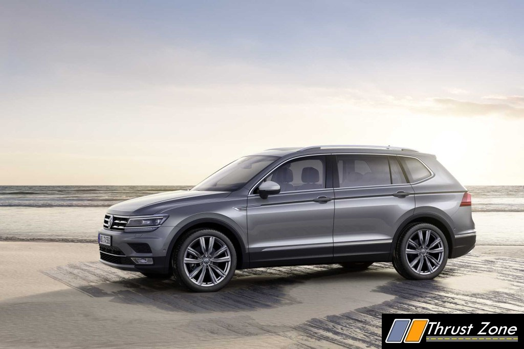 2020 Volkswagen Tiguan All Space Lwb India Launch Next Year