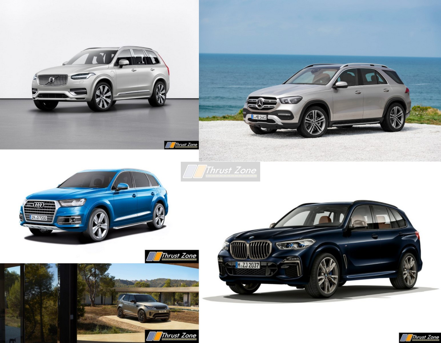 2019 BMW X5 Vs Land Rover Discovery vs Audi Q7 vs Mercedes GLE vs Volvo XC90
