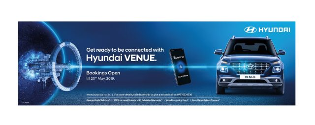 Hyundai VENUE bookings
